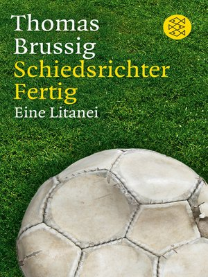 cover image of Schiedsrichter Fertig
