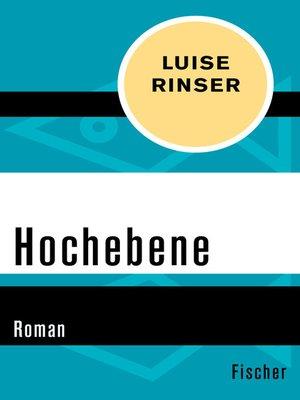 cover image of Hochebene