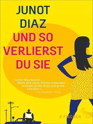 cover image of Und so verlierst du sie