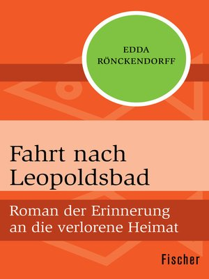 cover image of Fahrt nach Leopoldsbad