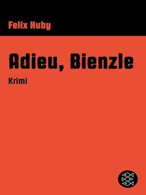 cover image of Adieu, Bienzle