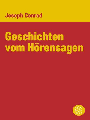 cover image of Geschichten vom Hörensagen