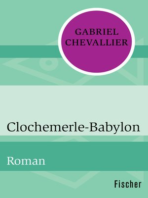cover image of Clochemerle-Babylon