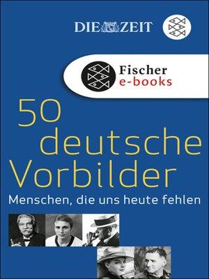 cover image of 50 deutsche Vorbilder