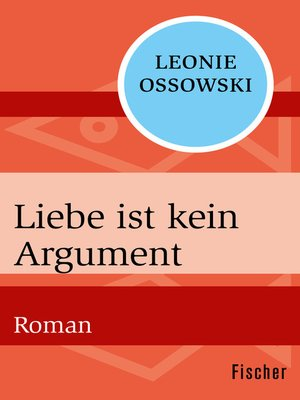 cover image of Liebe ist kein Argument