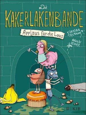 cover image of Die Kakerlakenbande − Applaus für die Laus