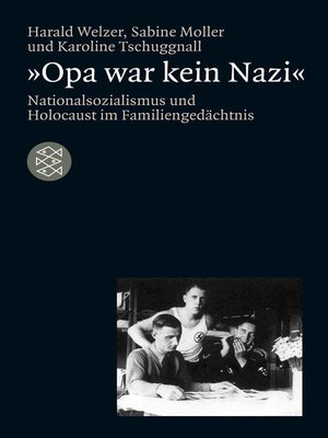 cover image of »Opa war kein Nazi«