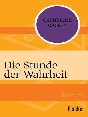cover image of Die Stunde der Wahrheit