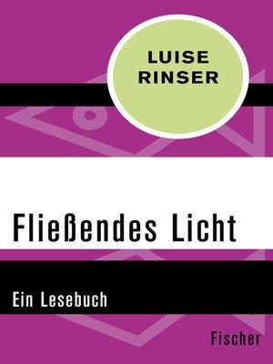 cover image of Fließendes Licht