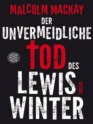 cover image of Der unvermeidliche Tod des Lewis Winter