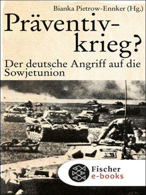 cover image of Präventivkrieg?