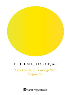 cover image of Das Geheimnis des gelben Geparden