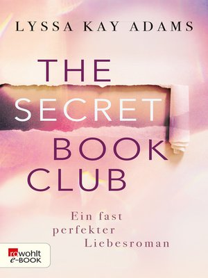 cover image of The Secret Book Club – Ein fast perfekter Liebesroman