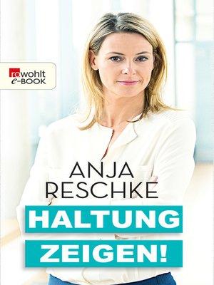cover image of Haltung zeigen!