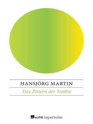 cover image of Das Zittern der Tenöre