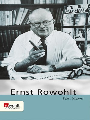 cover image of Ernst Rowohlt