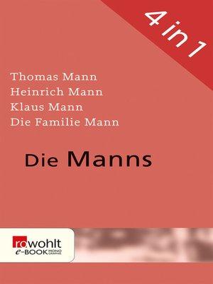 cover image of Die Manns