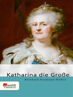 cover image of Katharina die Große