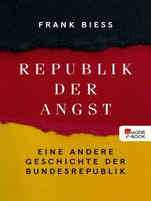 cover image of Republik der Angst