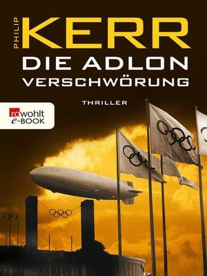 cover image of Die Adlon Verschwörung
