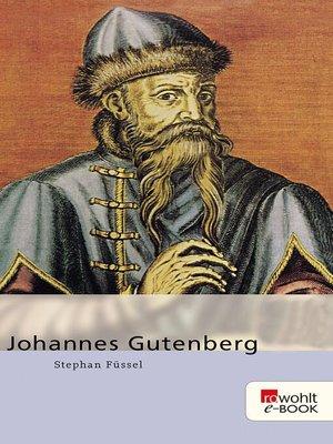 cover image of Johannes Gutenberg