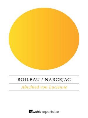 cover image of Abschied von Lucienne