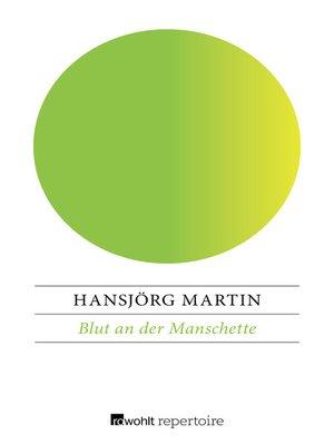 cover image of Blut an der Manschette