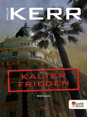 cover image of Kalter Frieden