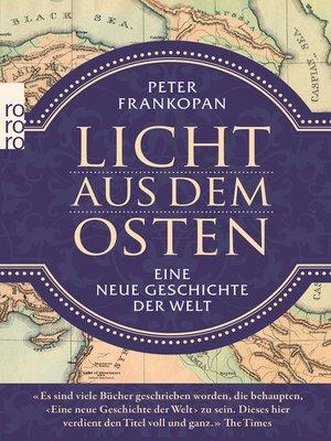 cover image of Licht aus dem Osten