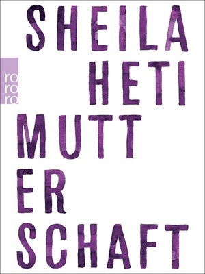 cover image of Mutterschaft
