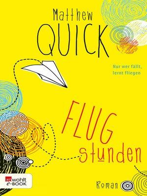 cover image of Flugstunden