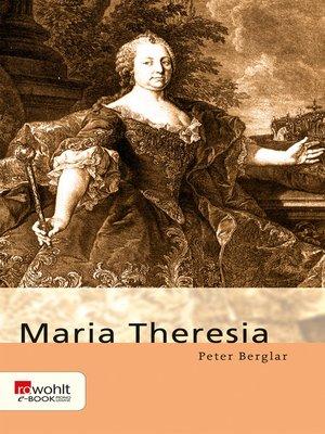 cover image of Maria Theresia