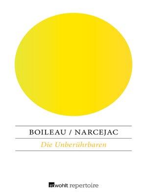 cover image of Die Unberührbaren