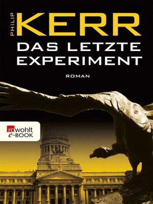 cover image of Das letzte Experiment