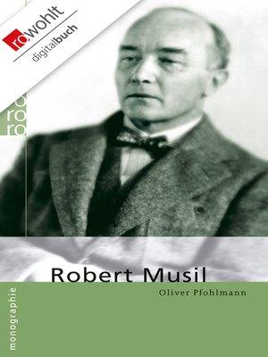 cover image of Robert Musil