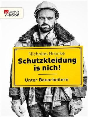cover image of Schutzkleidung is nich!