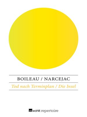 cover image of Tod nach Terminplan / Die Insel