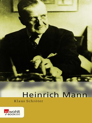 cover image of Heinrich Mann