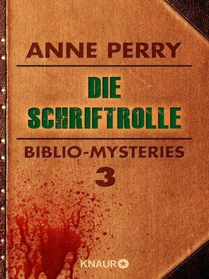 cover image of Die Schriftrolle
