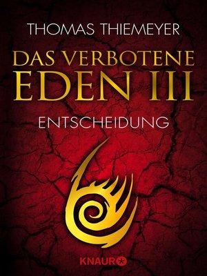 cover image of Das verbotene Eden 3