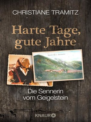 cover image of Harte Tage, gute Jahre