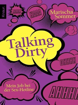 cover image of Talking Dirty