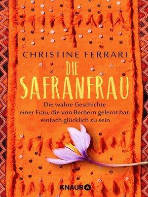 cover image of Die Safranfrau