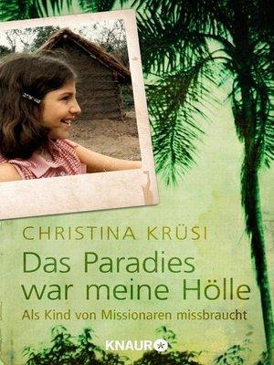cover image of Das Paradies war meine Hölle