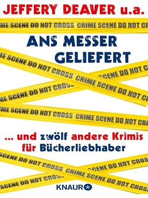cover image of Ans Messer geliefert