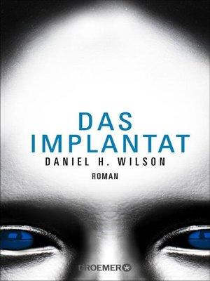 cover image of Das Implantat