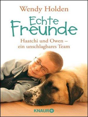 cover image of Echte Freunde