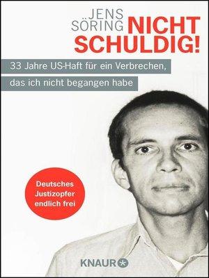 cover image of Nicht schuldig!