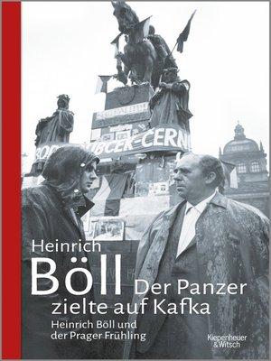 cover image of Der Panzer zielte auf Kafka