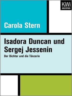 cover image of Isadora Duncan und Sergej Jessenin
